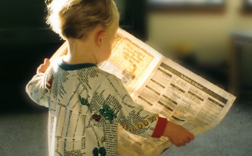 Newspapers – Why should children read them ?